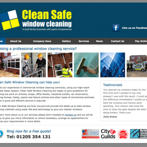 Clean Safe Window Cleaning